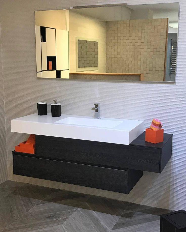 Bagno Arancione E Bianco: 40 idee per un bagno blu e bianco u2022 ...