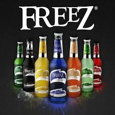 "BOISSONS FREEZ  "" Soft drinks"" en vente dans votre cash & carry  K&A FOOD Toulouse.  11  PARFUMS:  pomme raisin, blue hawai , ananas coco, fraise, grenadine, mojito , fruit des bois, pêche, mangue, citron gingembre, citron vert"
