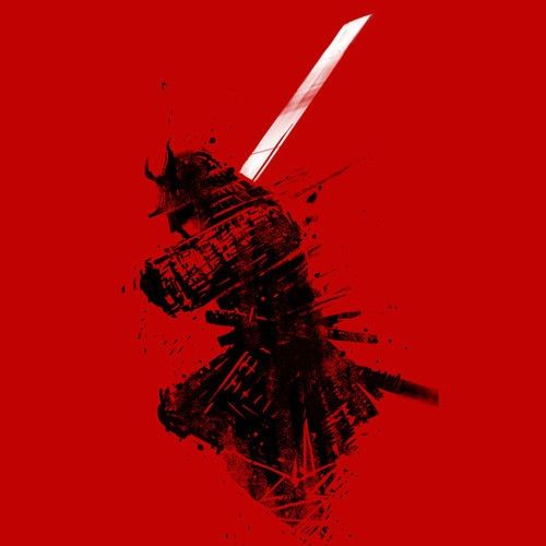 Red samurai iphone wallpaper iphone wallpaper - Classic art wallpaper iphone 5 ...