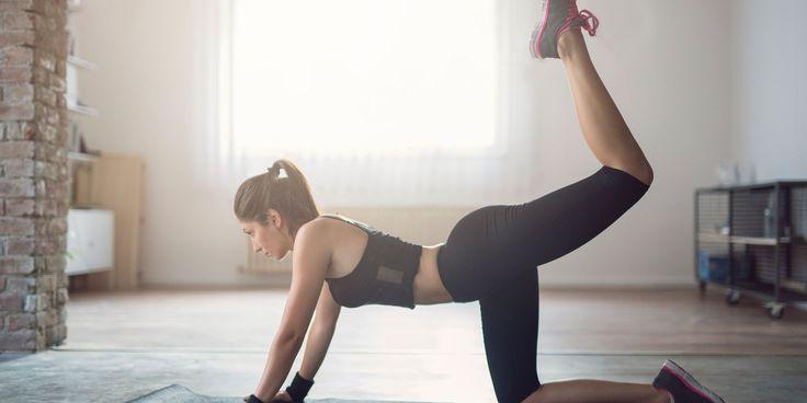 circuit training anti cellulite levé de jambe fessiers femme fitness