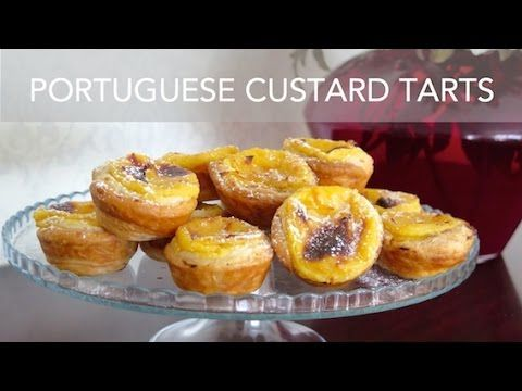 Jamie's Quick Portuguese Custard Tarts - YouTube