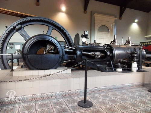 Steam powered engine