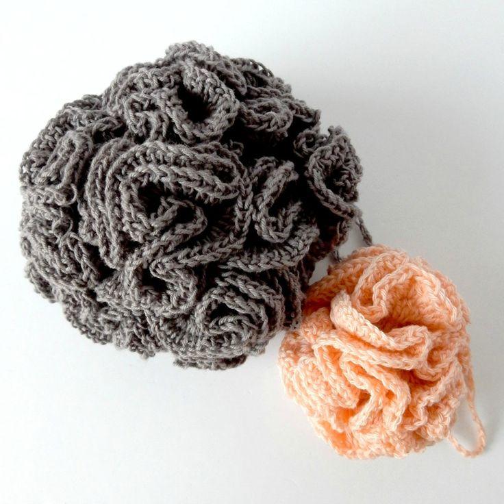fleurs de douche - tawashi de bain - bath pouf - Anisbee