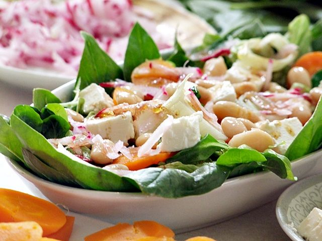 sałatka,fasolka,salad,feta,marchewka,nalato,