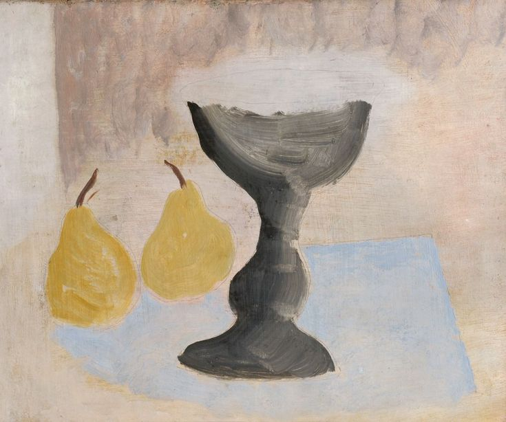 Ben Nicholson Goblet and Two Pears, 1924 – Collection Database – Kettle's Yard