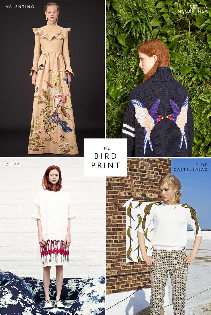 Resort 2015: bird print trend