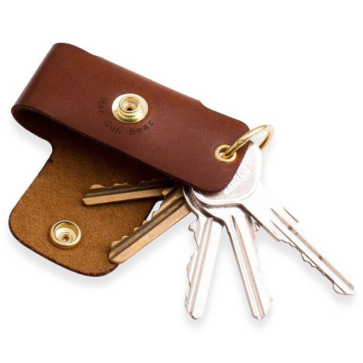 Personalised Leather Key Case