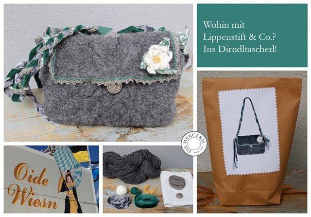 Das Dirndltascherl-Knit-Kit. www.diemercerie.com