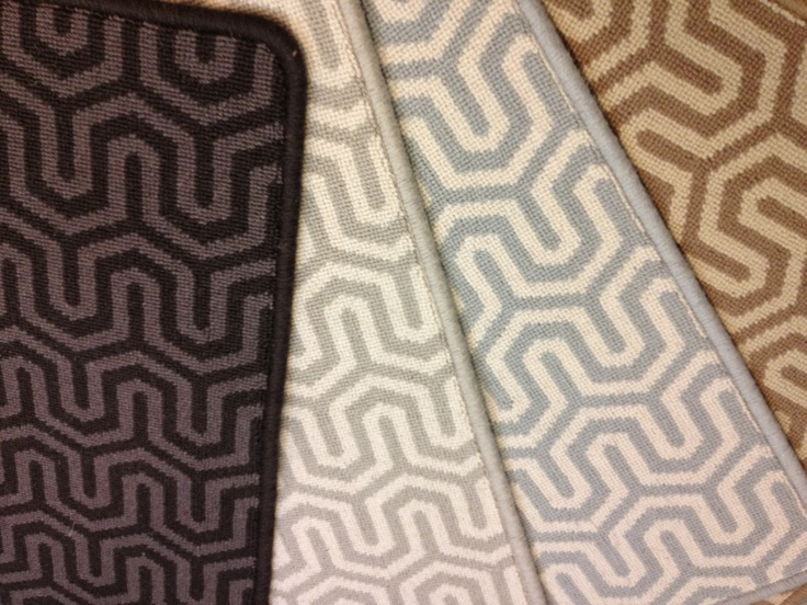 kingston is a geometric patterned carpet that can be used for wall to wall installation or - Wall Carpet Designs