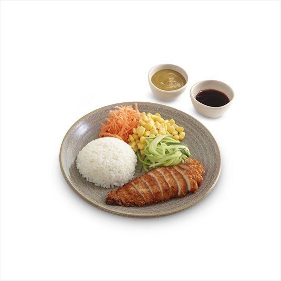 wagamama menu | kids mini chicken katsu