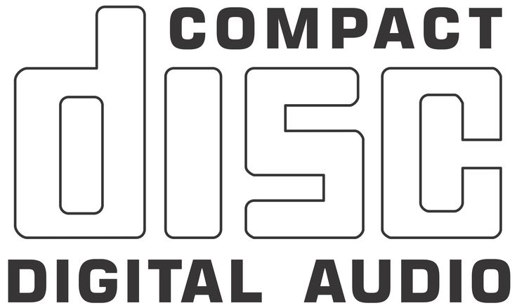 cd-audio logo [compact disc digital audio] | technology and