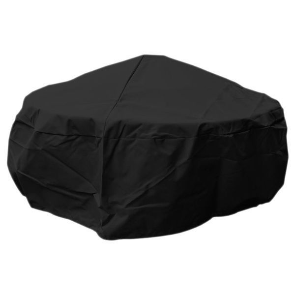Large Fire Pit Cover Black Outdoor BBQ Grill Patio Furniture Protector Barbecue  #doesnotapply