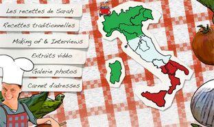 Sarah Wiener en Italie