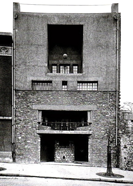 House for Tristan Tzara, Paris, 1926 by Adolf Loos