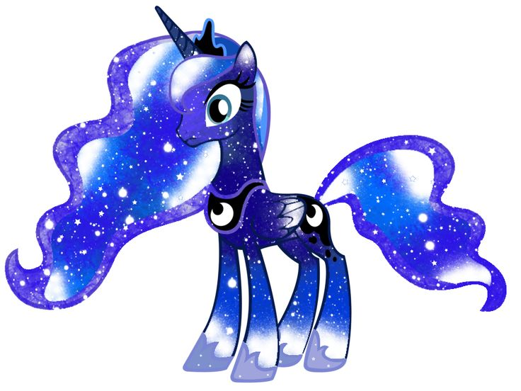 Galaxy Princess Luna by DigiTeku.deviantart.com on @deviantART