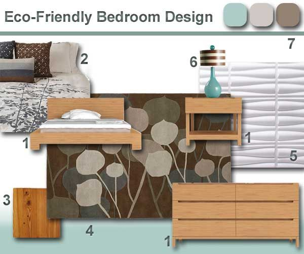 In the meantime here is a list of furniture finishes and for Eco friendly bedroom ideas