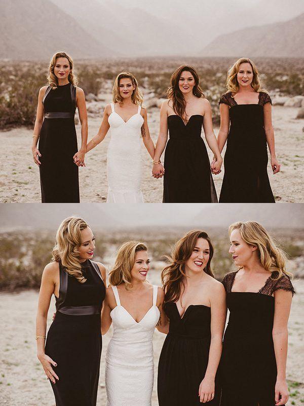 3 Bold Bridesmaids Looks for Your Fashion Forward Wedding | Junebug Weddings