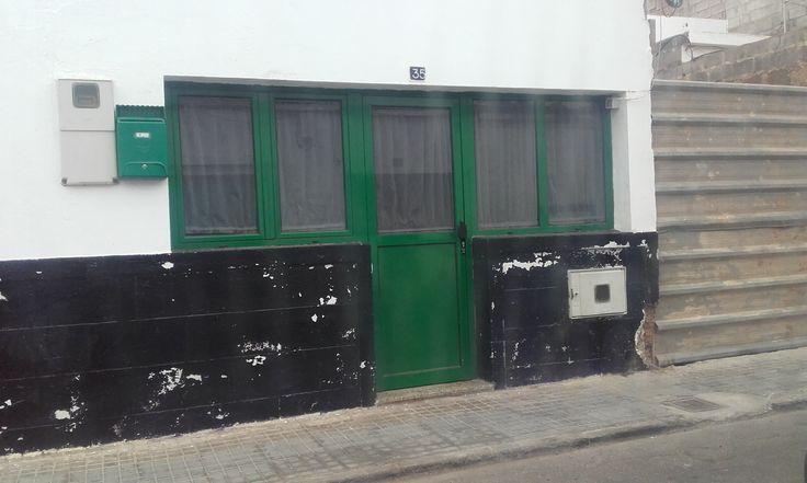 Casa terrera de antigua construcción, en el barrio de Altavista - Arrecife