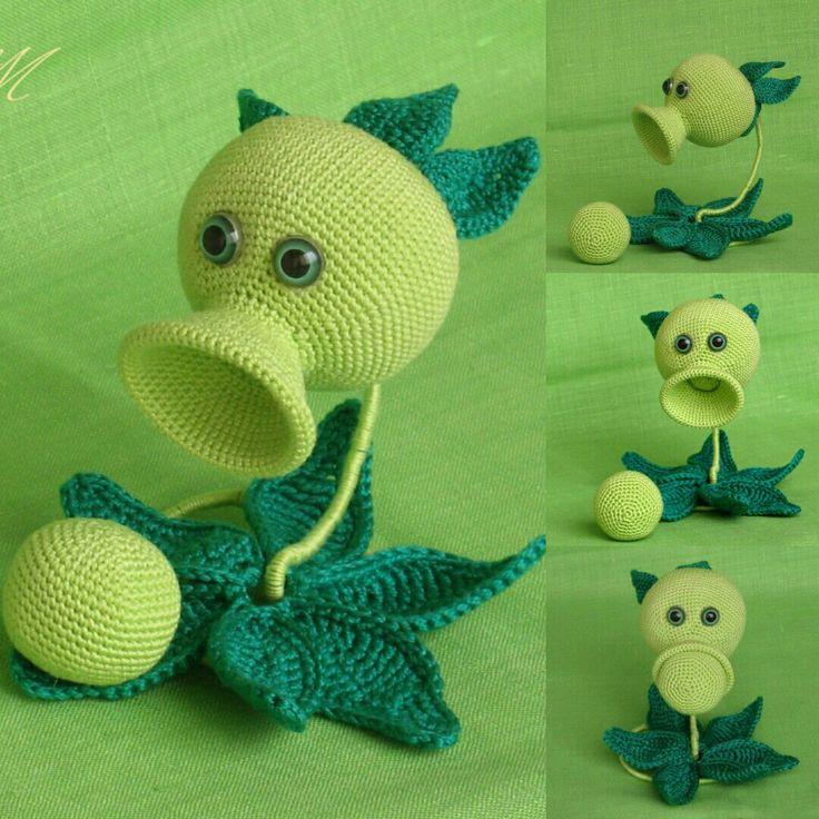 17 Best images about Crochet on Pinterest Plants vs ...