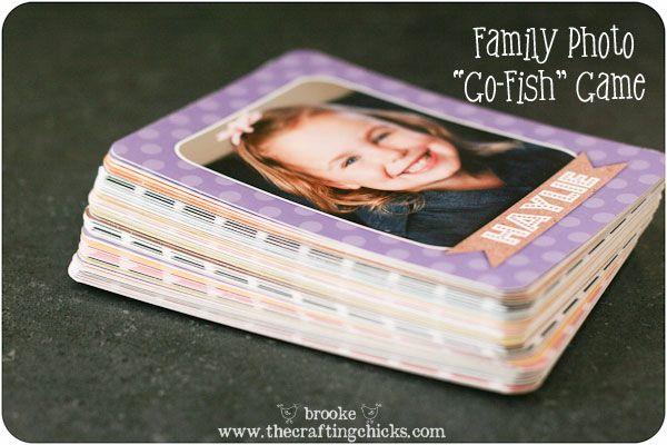 family photo Go Fish game