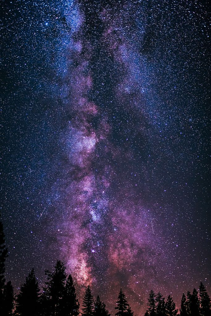 Milky Way at Yosemite. // Michael Scott Photographer