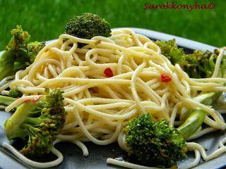 Sarokkonyha: Brokkolis spagetti Jamie módra