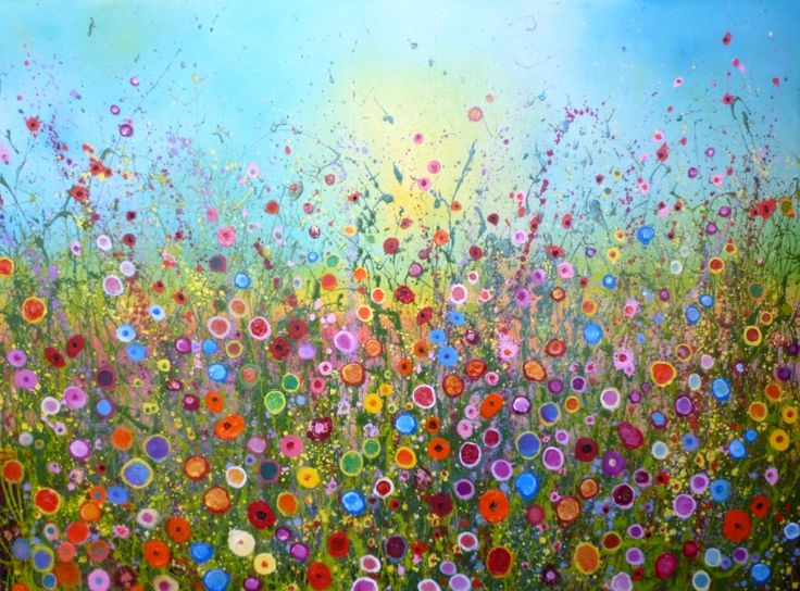 'My heart is yours forever' by Yvonne Coomber (160x120cms, mixed media on canvas), £3850, available now at: http://www.lyndhurstgallery.co.uk/gallery_exhib.asp?id=102