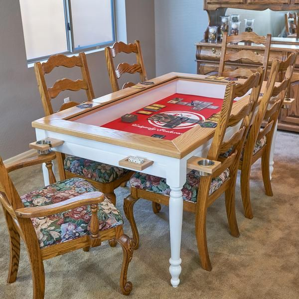 The Earl: Farmhouse Gaming Table (Deposit)