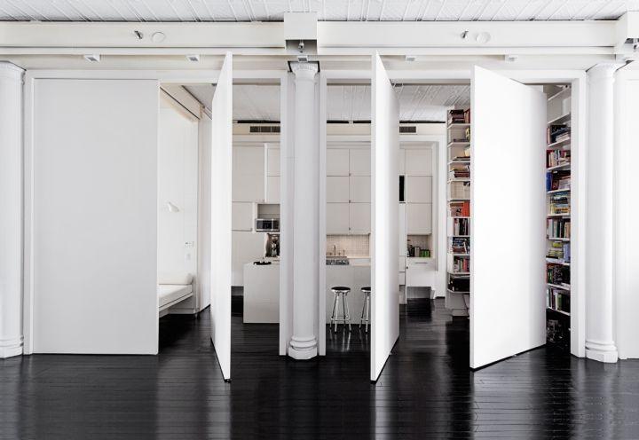 NYC: Total white per un loft