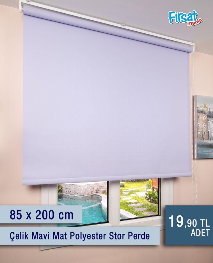 Mat polyester stor perdeler her mekana uygun kullanımı ve bir çok renk çeşidi ile sizlerin beğenisine sunulmuştur.