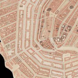 Archeologische vindplaatsen en historische kaarten en bebouwing Amsterdam