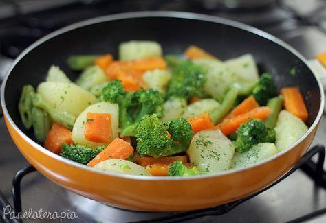Legumes na Manteiga ~ PANELATERAPIA - Blog de Culinária, Gastronomia e Receitas