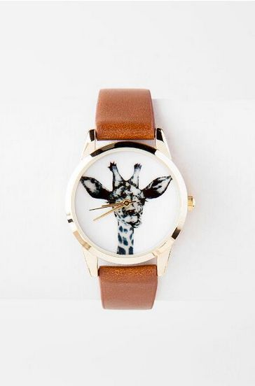 This classy wristwatch. | 27 Things You Need If You Love Giraffes