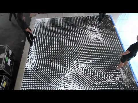 Interactive LED Floor - YouTube