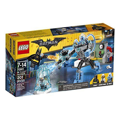 LEGO BATMAN MOVIE Mr. Freeze Ice Attack 70901 Building Kit (201 Piece),Lego Batman Toys, kids, toys, Lego, Lego sets