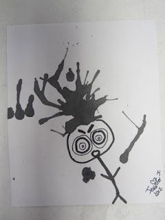 ART with Mrs. Smith: Inky Monsters