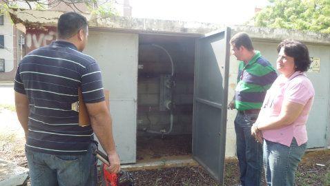 Foto El Gobierno Bolivariano del Zulia y Corpoelec evalúan proyecto de alumbrado en los campos de fútbol y softbol del complejo deportivo La...