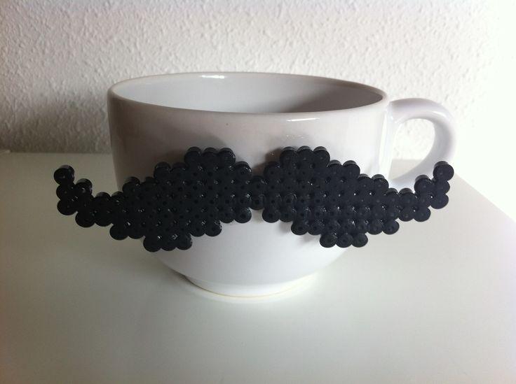 Got moustache? #hamabead