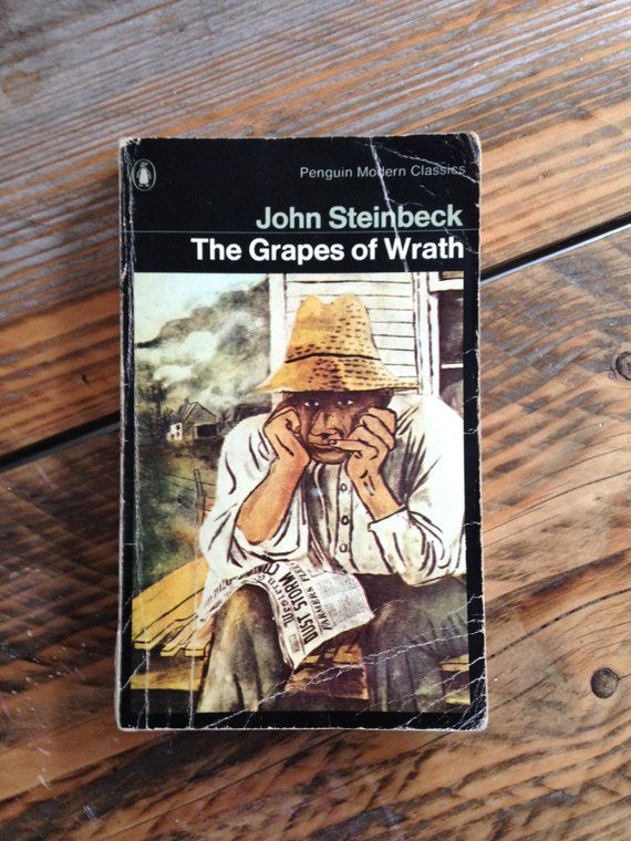 a summary of the book grapes of wrath The grapes of wrath summary  back next  the grapes of wrath en español  how it all goes down meet tom joad he's making his way home to sallisaw, oklahoma by hitchhiking his way there he has just spent four years in the mcalester state penitentiary after killing a man with a shovel, and is on parole as he approaches his homeland, he.