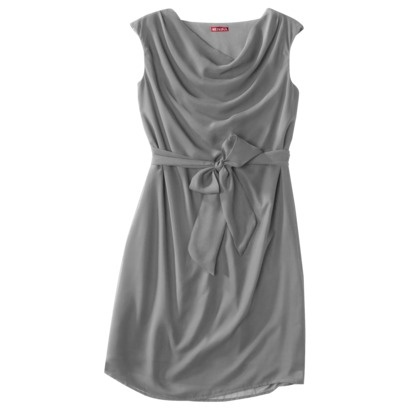 Merona® Petites Georgette Cowl Neck Dress - Assorted Colors.$39.99