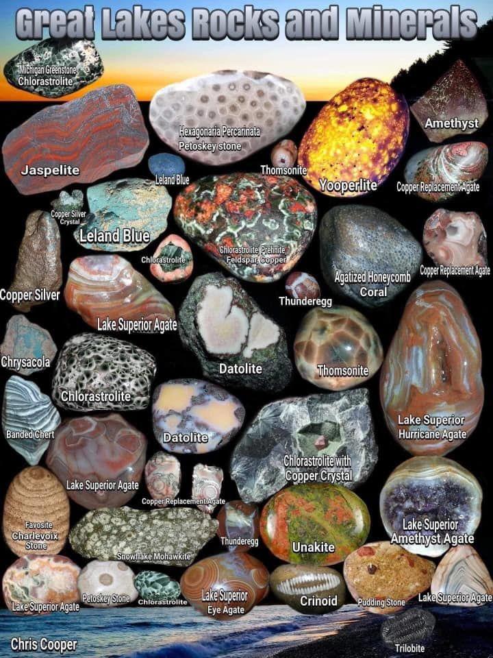 Michigan Rocks In 2020 Rocks And Minerals Minerals Rock Hunting