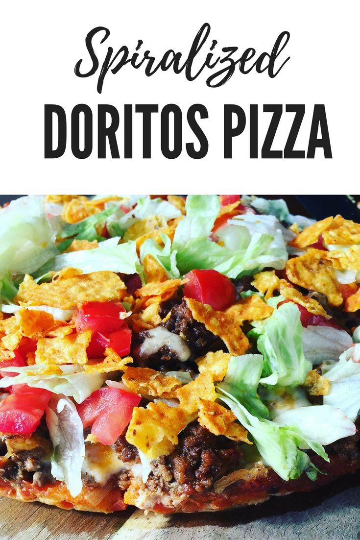 Spiralized Doritos Pizza