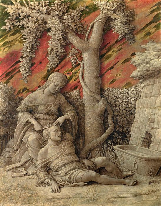 Samson And Delilah Andrea Mantegna