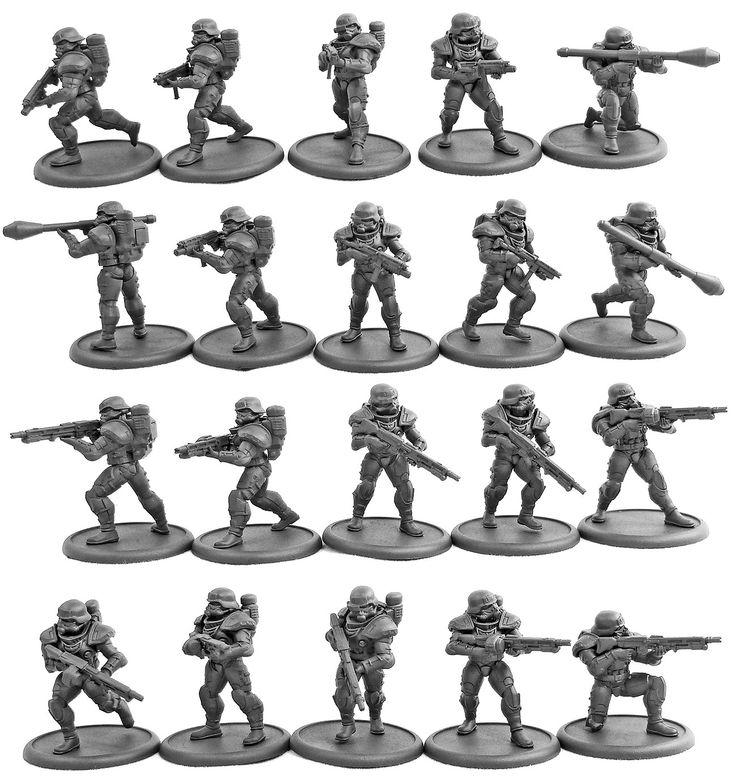 Eisenkern Stormtroopers (20 man set) | DreamForge-Games