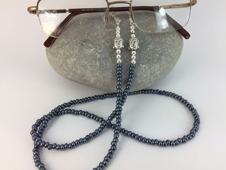 A stylish and funky glasses chain available in a variety of fabulous colours