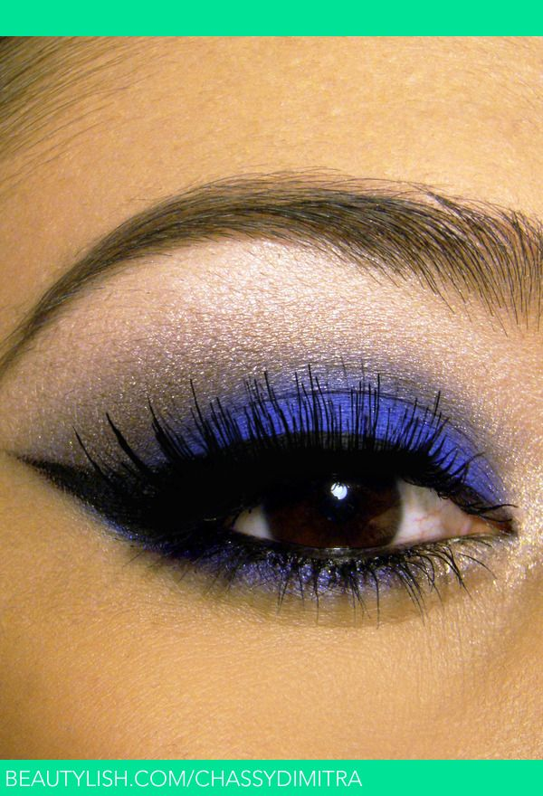 Cobalt Blue Smokey Eye | Chassy D.'s (chassydimitra) Photo | Beautylish
