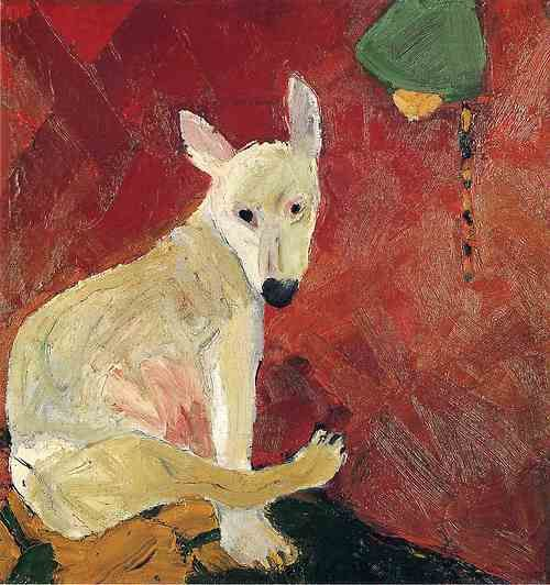 joan brown: for my pups on canvas collection