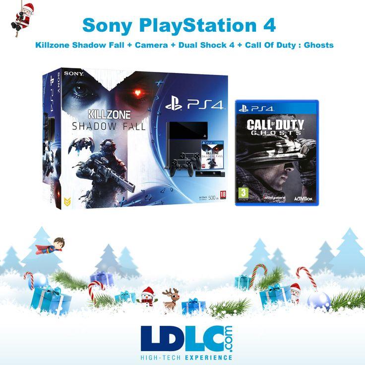 Grand jeu de Noël LDLC ! Vous avez voté pour : Sony PlayStation 4 + Killzone Shadow Fall + Camera + Dual Shock 4 + Call Of Duty : Ghosts : http://www.ldlc.com/fiche/PB00155556.html  RDV le 27/11 pour vous inscrire à notre grand jeu de Noël !