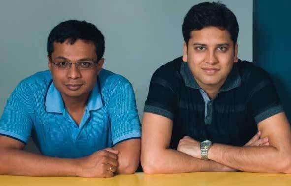 Sachin Bansal | CEO, Flipkart, Binny Bansal | COO, Flipkart | The Techy http://www.thetechy.com/interviews-top-100-tech-indians/sachin-bansal-ceo-flipkart-binny-bansal-coo-flipkart