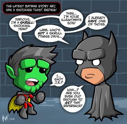 Lil Formers #125: Batman RIP